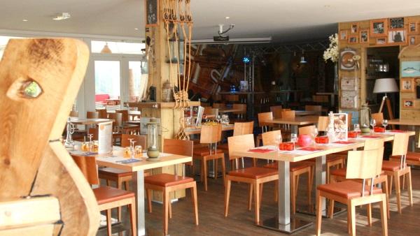 Restaurant de bord de mer en Normandie